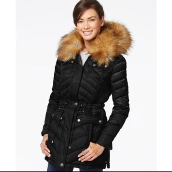 c2ac18d06 Laundry by Design Jackets   Blazers - Laundry by Design Faux-Fur Trim Down  Coat